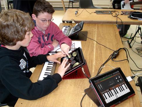 iPad music workshops