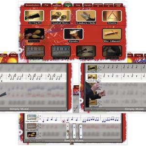 Boomwhacker music notation