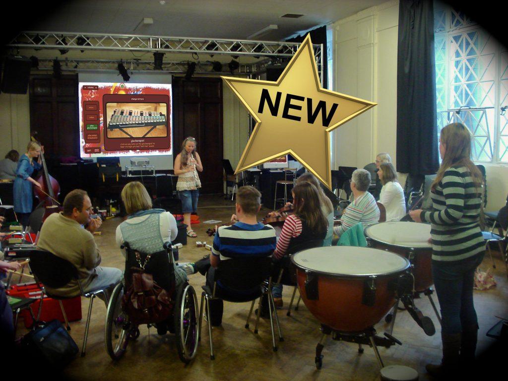 Teacher Training music workshops