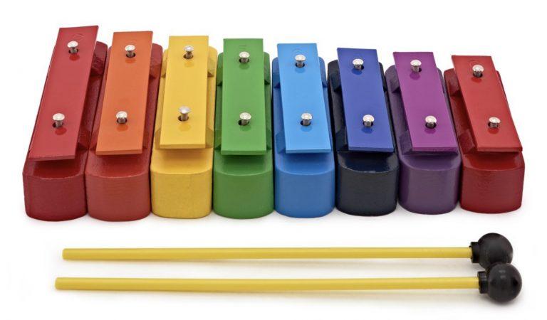 Coloured Chime Bars
